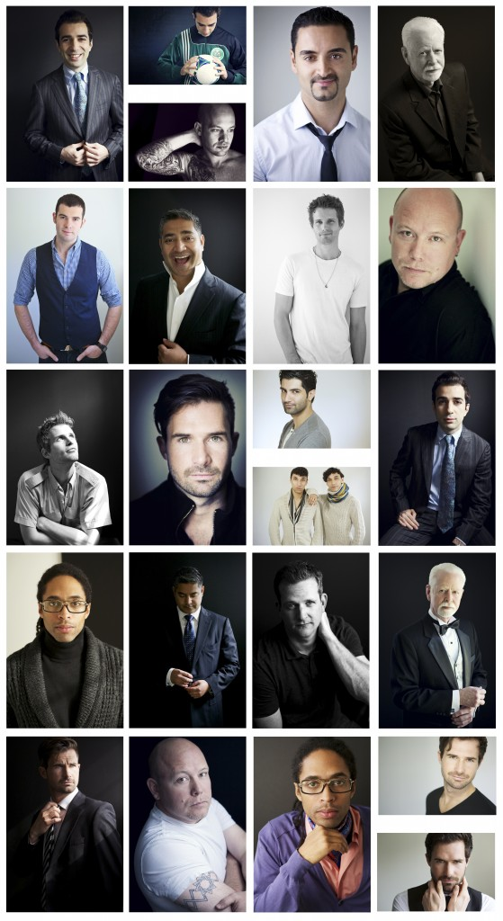 men's contemporary portraits