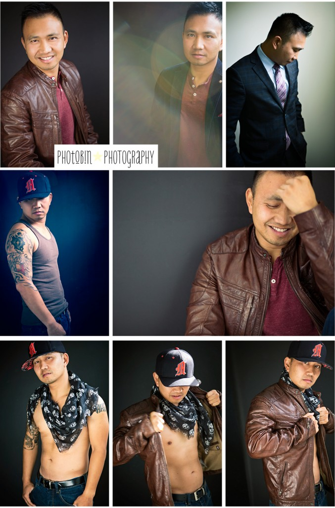 from professional head shot to hip hop gansta' phoTobin photography's men's {contemporary portraits}